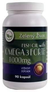 Zelený Život FISH OIL s OMEGA 3 1000 mg cps 1x90 ks