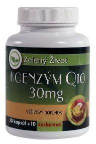 Zelený Život KOENZÝM Q10 30 mg cps 1x40 ks