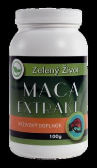 Zelený Život Maca extrakt prášková 1x100 g