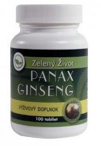 Zelený Život Panax Ginseng tbl 1x100 ks