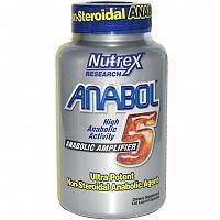 Anabol 5 120 kaps - Nutrex unflavored