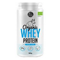 Diet Food Organic Whey Protein 500 g natural