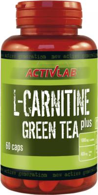 L-Carnitine + Green Tea 60 kaps - ActivLab unflavored