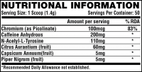 NUTREX LIPO 6 BLACK 70 g fruit punch