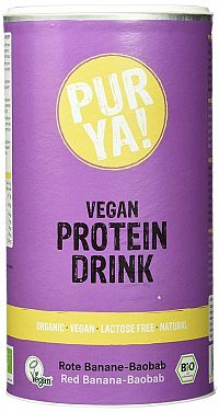 PUR YA! Vegan Protein Drink BIO 550 g cacao carob
