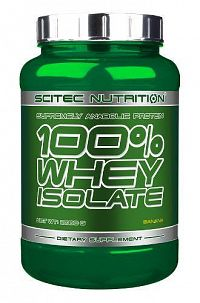 Scitec Nutrition 100% Whey Isolate 700 g banana