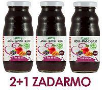2+1 ZADARMO 100% šťava BIO Arónia - BIO Rakytník - BIO Jablko 200ml Zamio, s.r.o.