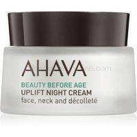 Ahava Beauty Before Age nočný liftingový vypínací krém na tvár, krk a dekolt  50 ml