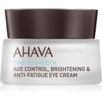 Ahava Time To Smooth hydratačný očný krém s vyhladzujúcim efektom  15 ml
