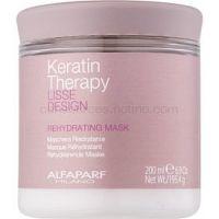 Alfaparf Milano Lisse Design Keratin Therapy rehydratačná maska pre všetky typy vlasov   ml