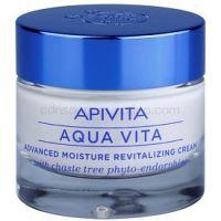 Apivita Aqua Vita intenzívny hydratačný a revitalizačný krém pre mastnú a zmiešanú pleť  50 ml