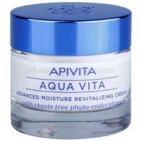 Apivita Aqua Vita intenzívny hydratačný a revitalizačný krém pre normálnu a suchú pleť  50 ml