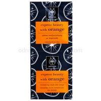 Apivita Express Beauty Orange revitalizačná pleťová maska  2 x 8 ml