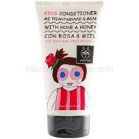 Apivita Kids Rose & Honey vlasový kondicionér pre deti  150 ml