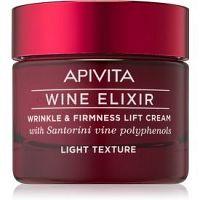 Apivita Wine Elixir Santorini Vine ľahký protivráskový krém so spevňujúcim účinkom  50 ml