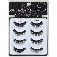 Ardell Glamour nalepovacie riasy Multipack odtieň 101 (Demi Black) 3 cm