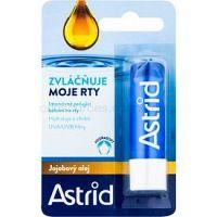 Astrid Lip Care intenzívne ošetrujúci balzam na pery s jojobovým olejom (Sunflower Oil, Vitamin E, UV Protection) 4,8 g