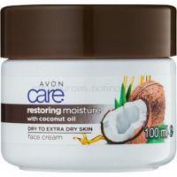 Avon Care hydratačný pleťový krém s kokosovým olejom  100 ml