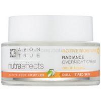 Avon True NutraEffects rozjasňujúci nočný krém  50 ml