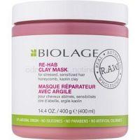 Biolage RAW Recover ílová maska pre slabé, namáhané vlasy bez parabénov a silikónov  400 ml