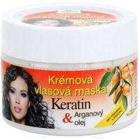 Bione Cosmetics Keratin Argan regeneračná maska  na vlasy    260 ml