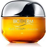 Biotherm Blue Therapy Cream-in-Oil výživný obnovujúci krém pre normálnu a suchú pleť  50 ml