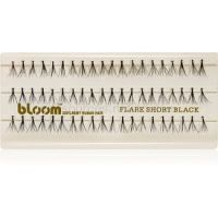 Bloom Flare umelé riasy veľkosť Short Black