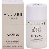 Chanel Allure Homme Édition Blanche deostick pre mužov 75 ml