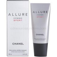 Chanel Allure Homme Sport balzám po holení pre mužov 100 ml