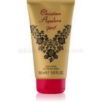 Christina Aguilera Glam X telové mlieko pre ženy 150 ml