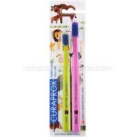 Curaprox 5460 Ultra Soft Animal Family Edition zubné kefky 2 ks