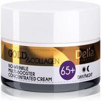Delia Cosmetics Gold & Collagen 65+ protivráskový krém s regeneračným účinkom  50 ml