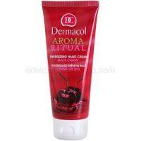 Dermacol Aroma Ritual povzbudzujúci krém na ruky čierna čerešňa  100 ml