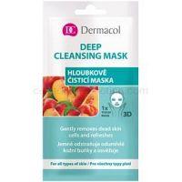 Dermacol Deep Cleasing Mask textilná 3D hĺbkovo čistiaca maska  15 ml