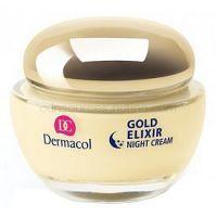 Dermacol Gold Elixir nočný omladzujúci krém s kaviárom  50 ml