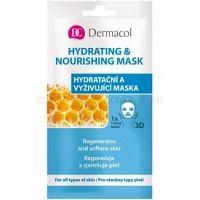 Dermacol Hydrating & Nourishing Mask textilná 3D hydratačná a vyživujúca maska  15 ml