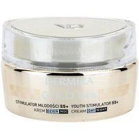 Dermika Gold 24k Total Benefit luxusný omladzujúci krém 55+  50 ml