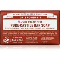 Dr. Bronner's Eucalyptus tuhé mydlo  140 g