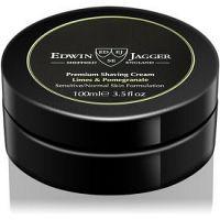 EDWIN JAGGER Limes & Pomegranate krém na holenie pre zmiešanú pleť  100 ml