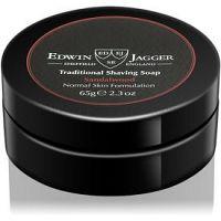 Edwin Jagger Sandalwood mydlo na holenie mydlo na holenie pre normálnu pleť  65 g