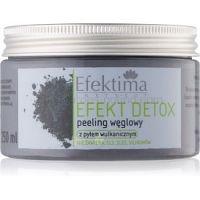 Efektima Institut Efekt Detox telový peeling s aktívnym uhlím  250 ml