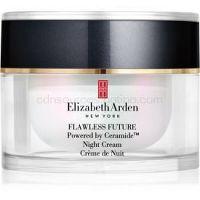 Elizabeth Arden Flawless Future Night Cream nočný hydratačný krém s ceramidmi  50 ml