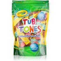 EP Line Crayola Tub Tones farebné šumivé tablety do kúpeľa 15 x 10 g