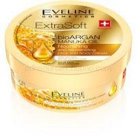 Eveline Cosmetics Extra Soft hydratačný krém na telo a tvár s arganovým olejom  175 ml