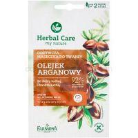 Farmona Herbal Care Argan Oil výživná maska pre suchú až veľmi suchú pleť  2 x 5 ml