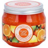 Farmona Magic Time Citrus Euphoria telový peeling s cukrom pre regeneráciu pokožky  300 g