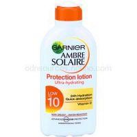 Garnier Ambre Solaire mlieko na opaľovanie SPF 10  200 ml