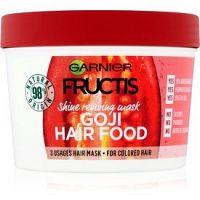 Garnier Fructis Goji Hair Food maska navracajúca lesk farbeným vlasom  390 ml
