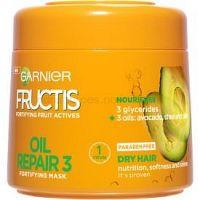Garnier Fructis Oil Repair 3 posilujúca maska pre suché a poškodené vlasy  300 ml