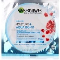 Garnier Skin Naturals Moisture+Aqua Bomb super hydratačná vyplňujúca textilná maska na tvár  32 g